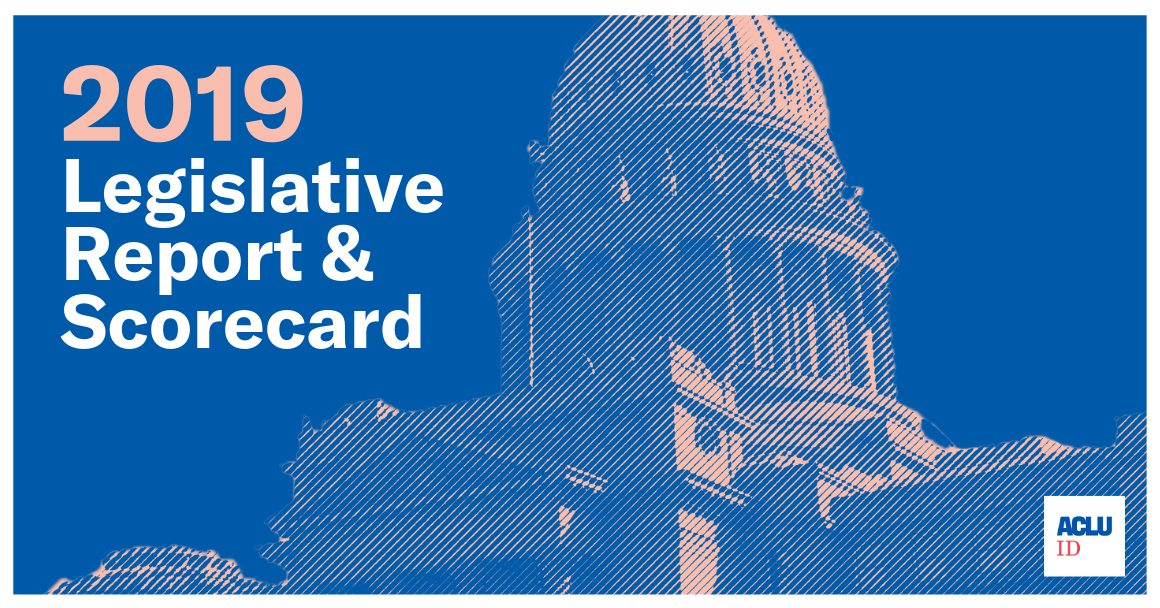 Idaho Legislative Report